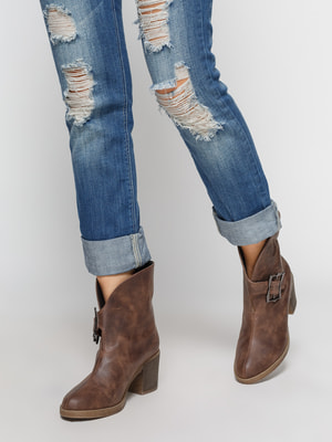 Ботинки коричневые | 4664887