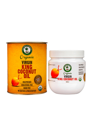 Кокосовое масло King Organic (500 мл) | 4692519