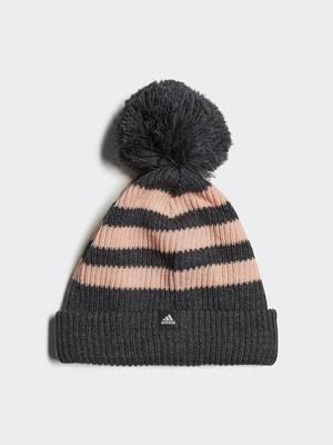 Шапка сіро-рожева | 4556808