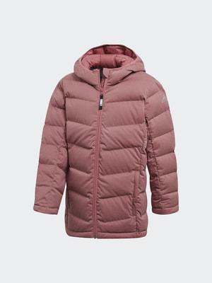 Пуховик рожевий | 4692053
