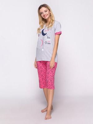 Піжама: футболка і штани | 4690748