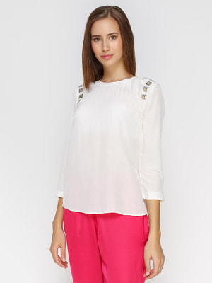 Блуза белая   4653719