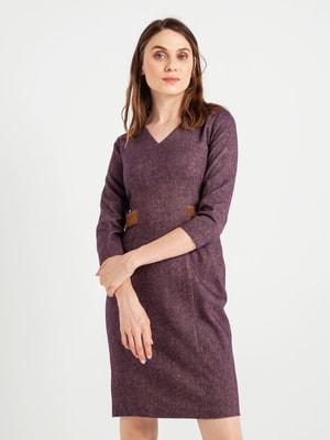 Платье фиолетовое | 4690808