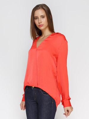 Блуза коралловая | 4640684