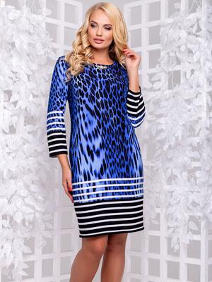 Платье синее | 4692490