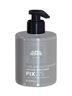 Гель для укладки волос — легкая фиксация Alpha Homme Pro (275 мл) | 4693924