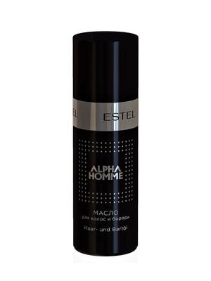 Олія для волосся та бороди Alpha Homme (50 мл) | 4693935