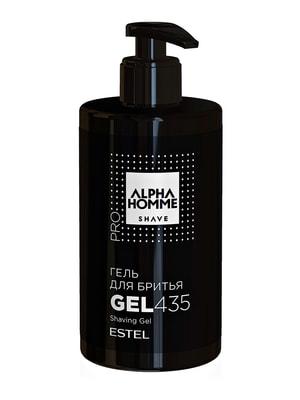Гель для гоління Alpha Homme Pro (435 мл) | 4693939