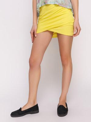 Юбка лимонного цвета | 4647903