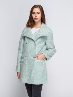 Пальто мятного цвета   4649179