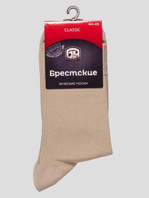 Носки песочного цвета | 4663432