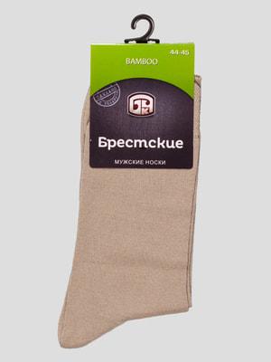 Шкарпетки пісочного кольору | 4663490