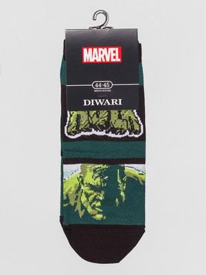 Шкарпетки в принт | 4663399