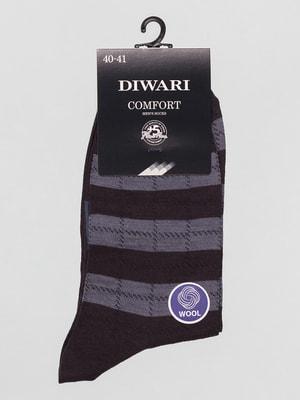 Шкарпетки графітового кольору | 4663410