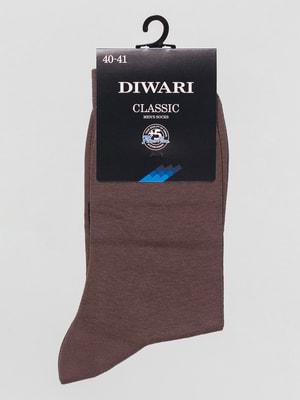 Шкарпетки темно-бежеві | 4451154