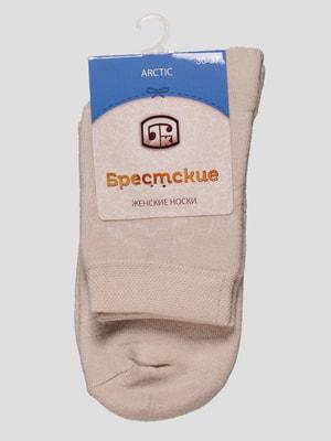Шкарпетки бежеві | 4663381