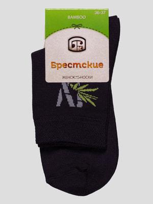 Шкарпетки графітового кольору | 4663365