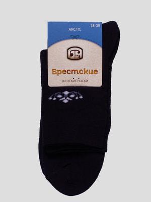 Шкарпетки темно-сині | 4663382