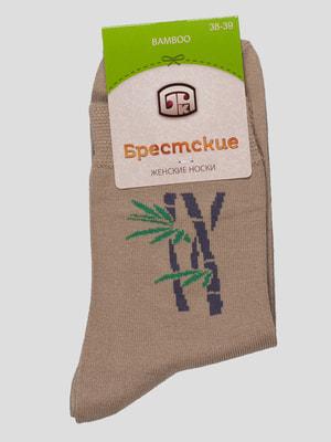 Шкарпетки бежеві | 4663364