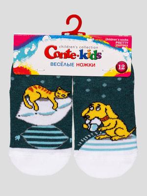 Шкарпетки в принт | 4663637