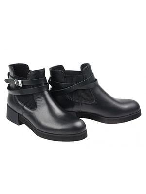 Ботинки черные | 4695679