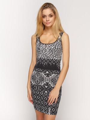 Платье в принт | 4640280