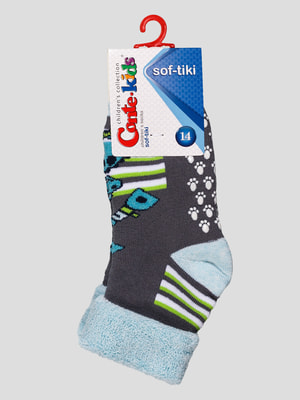 Шкарпетки темно-сірі | 4663688