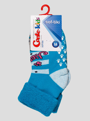 Шкарпетки бірюзові | 4663689