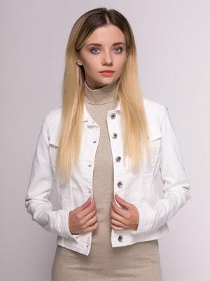 Куртка молочного цвета | 4646277