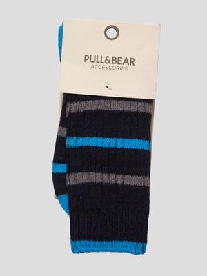 Носки темно-синие | 4646942