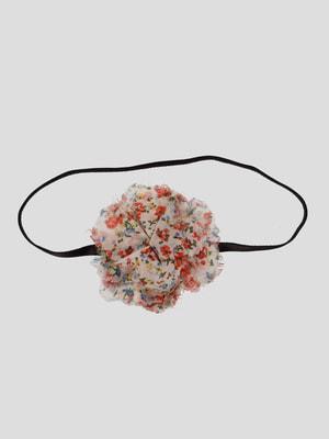 Пов'язка на голову у квітковий принт | 4647331
