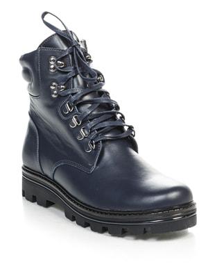 Ботинки темно-синие   4691080