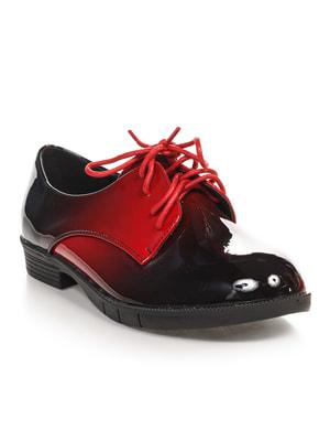Туфли бордовые | 4692841
