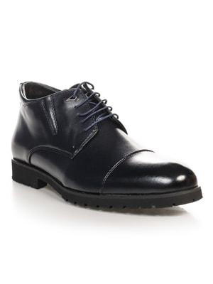 Ботинки темно-синие | 4688357