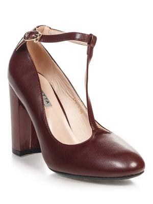 Туфли бордовые | 4692896