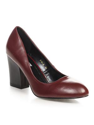 Туфли бордовые | 4692884