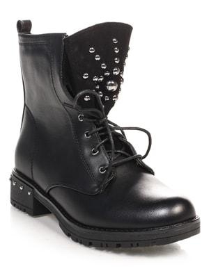 Ботинки черные   4688276