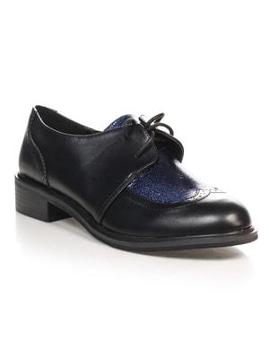 Туфли черно-синие | 4692822
