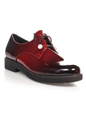 Туфли бордовые | 4692809