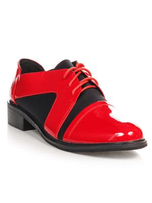 Туфли красно-черные   4692824