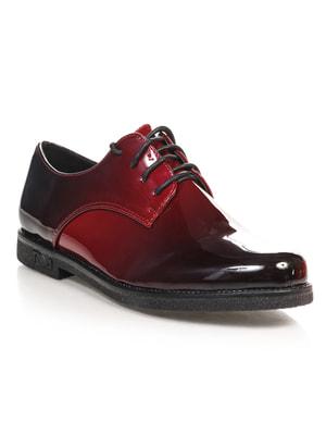 Туфли бордовые | 4692808