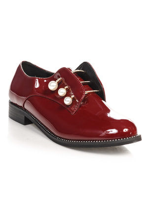Туфли бордовые | 4692812