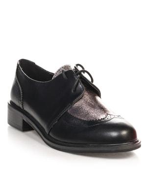 Туфли черно-серые | 4692825