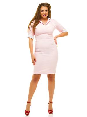 Платье цвета пудры | 3315414