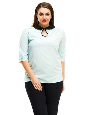 Блуза голубая | 4613932