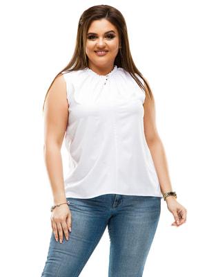 Блуза белая | 4614115