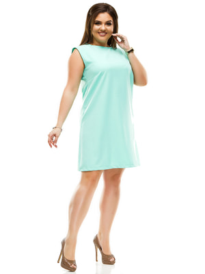 Платье мятного цвета | 4614116