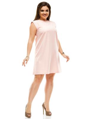 Сукня кольору пудри | 4614117