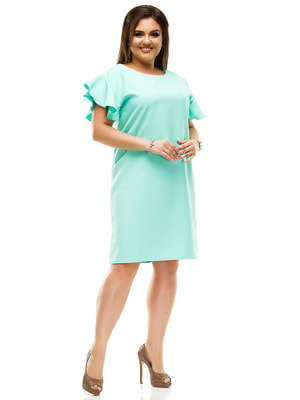 Платье мятного цвета | 4614121