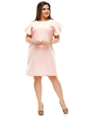 Сукня кольору пудри | 4614122